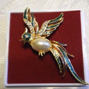 Fashion Accessories Beautiful Hummingbird Brooch